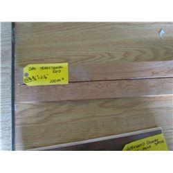 "Hardwood Flooring, Oak Traditional Red, 200 sq ft 3¼ & 2¼"""