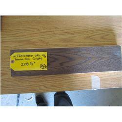 Hardwood Flooring, Wirescraped Oak premium Satin, Grizzley 228 sq ft 4¼