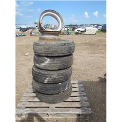 5 mobile home axles tires and rims tubeless, 14.5