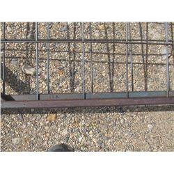 2 metal gates, 16½ ft x 4½ ft