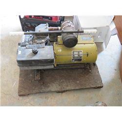 Sears Generator 3500 W, Craftsman 8HP motor, not running, motor turns over