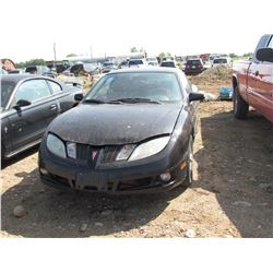 1999 Pontiac Sunfire, keys, as is, salvage, VIN 1G2JB1243X7578264