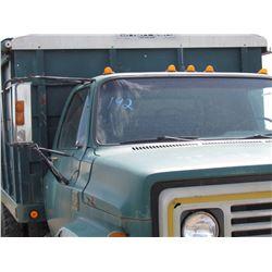 1973 Chev C60 Grain Truck, runs, c/w box & hoist VIN: