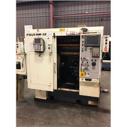 FUJI HM-30 CNC LATHE SINGLE SPINDLE