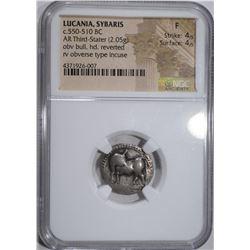 ANCIENT LUCANIA, SYBARIS  NGC FINE