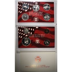 1999 U.S. SILVER PROOF SET ORIG BOX/COA