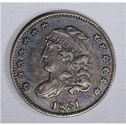 1831 CAPPED BUST HALF DIME  CH AU