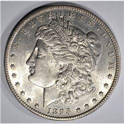 1893-O MORGAN SILVER DOLLAR  BU