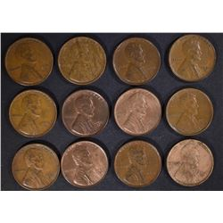 12-1931-D LINCOLN CENTS, VF