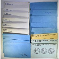 1979 SBA SOUVENIR SET; 2-1980 SBA