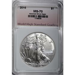 2016 AMERICAN SILVER EAGLE WHSG