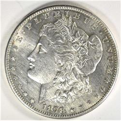 1878-S MORGAN DOLLAR CH BU CLEANED