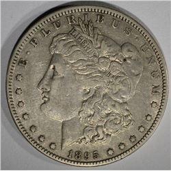 1895-O MORGAN DOLLAR  XF-AU