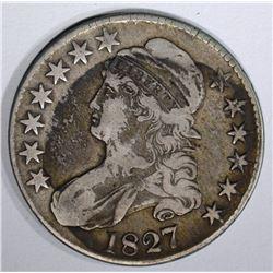 1827 BUST HALF DOLLAR O-131
