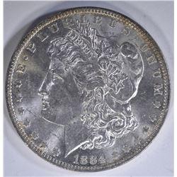 1884-O MORGAN DOLLAR, CH BU