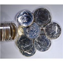 BU ROLL OF 1967 SMS  KENNEDY HALF DOLLARS