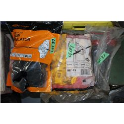Implement Pins (2) & 2 Bags of Fence Insulators