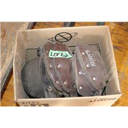 Box of Welders' Knee Pads