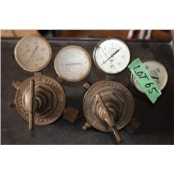 Set of Victor Welding Gauges