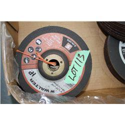 """Bundle of 6"""" x 1/4"""" Grinding Wheels (10)"""