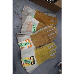 Welders Gloves (4 prs)