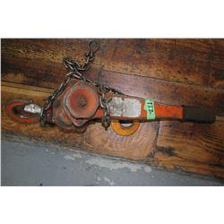 Chain Hoist - 1 1/2 Ton
