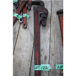 """Rigid Pipe Wrench - 24"""""""