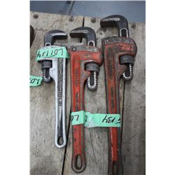 """Rigid Pipe Wrench - 10""""; 12"""" & 14"""""""