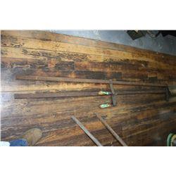 Welder's Clamps - 6 ft. (2)