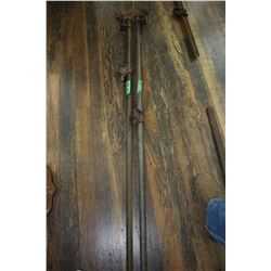 Pipe Clamps - 4 ft. (2)