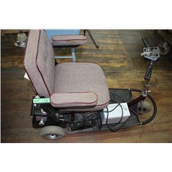 Seniors Electric Cart - 3 Wheeled