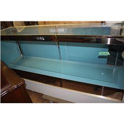 Glass Showcases (2) - 6 ft.