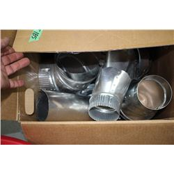 Box of Sheet Metal Duct Fittings