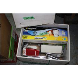 Box of Light Bulbs - 60W, 100W, 40W & 23W