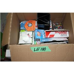 Box of Office Supplies