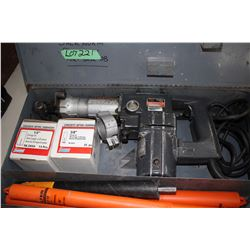Skil Rotary Hammer (Concrete Drill) w/Some Anchors & Extra Bits