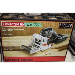 Craftsman Biscuit Joiner - New - Never Opened