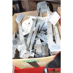 Box of Various Sizeds of Joist & Truss Hangers