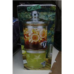 2 Tier Beverage Dispenser - Used Once