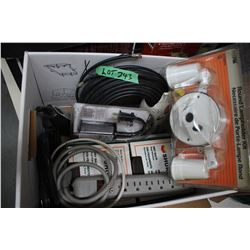 Box of Electrical Supplies