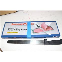 Jerky Cutting Board & Knife