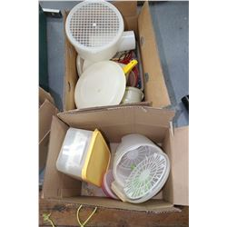 Box of Tupperware