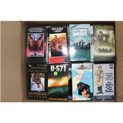 Full Box of VHS Movies (Star Wars, & Other Classics)