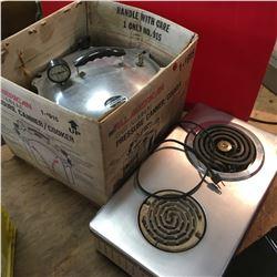 Hot Plate & Pressure Cooker