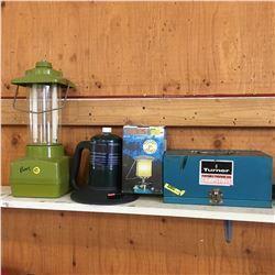 Turner Portable Propane Camp Stove & Lanterns