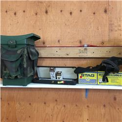 Hunters Combo: Hunting Seat, Gun Cleaning Kits, Holster