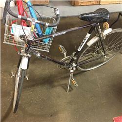 Vulcan 10spd Bike w/Tire Pumps in the Basket