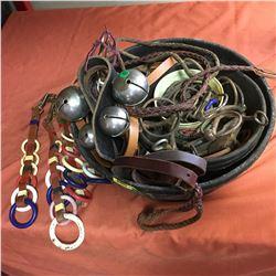 Bits, Bells & Harness Ring Décor