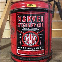 5 Gallon Pail : Marvel Mystery Oil