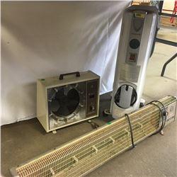3 Elec Heaters